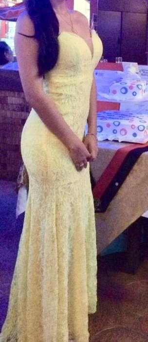 Vestido de Gala talla S-M