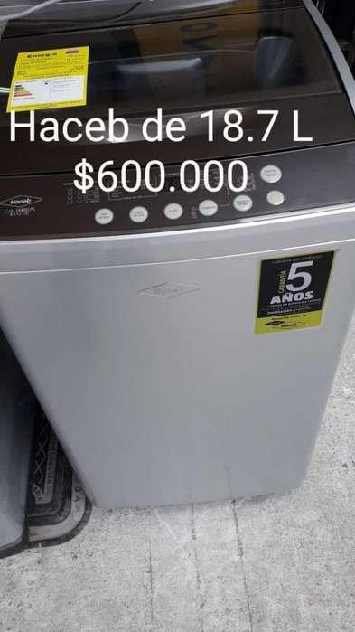 Lavadora Haceb 19 Libras Como Nueva