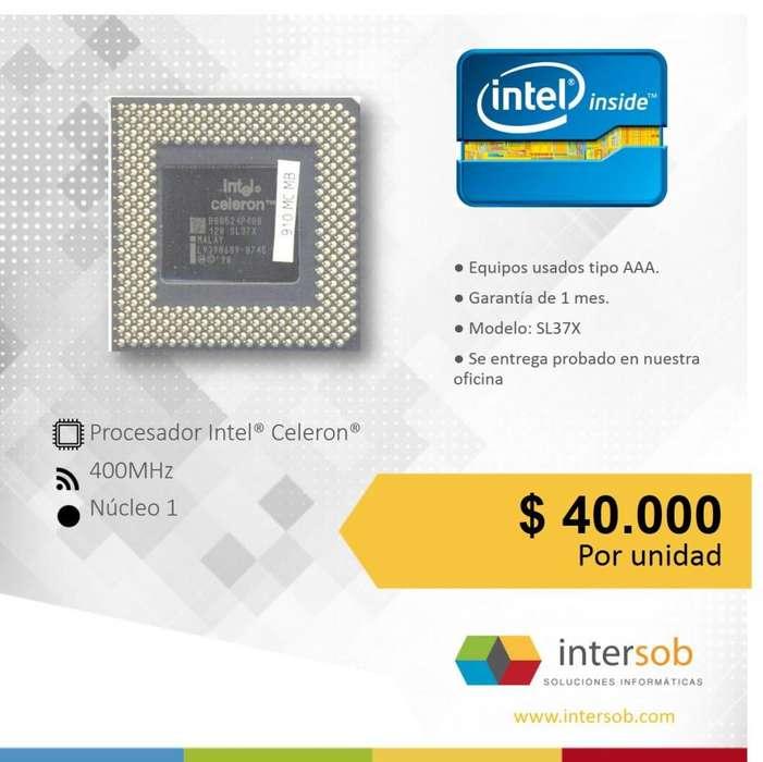 Procesadores Intel PC escritorio