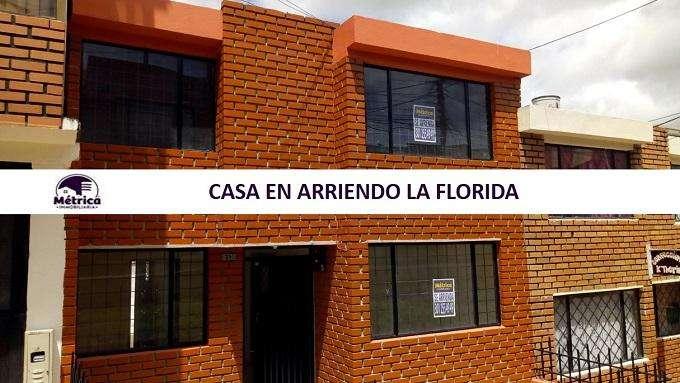 322A CASA EN ARRIENDO LA FLORIDA