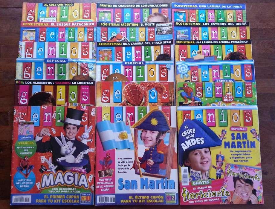 Revistas Genios para La Escuela