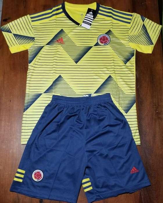 Camiseta Short Selección Colombia 2019