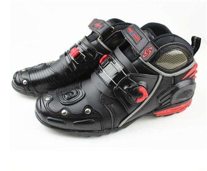 973432d7 Botas proteccion <strong>moto</strong> marca Speed caña baja media botines