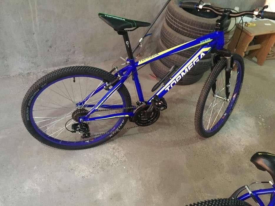 Bicicleta Mountain Bike Topmega Rod26