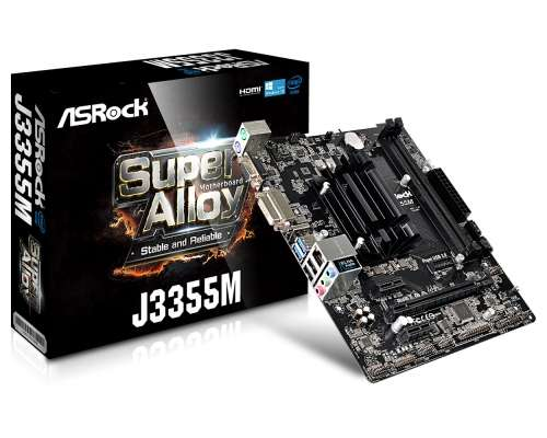 Mother Asrock J3355m Cpu Intel Dual Core J3