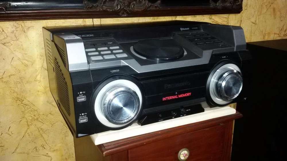 Equipo de Sonido Panasonic Sa-max8000