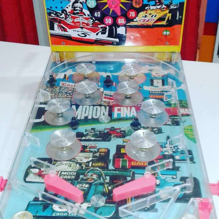 Flipper Pin Ball Grand Prix De Los 70s