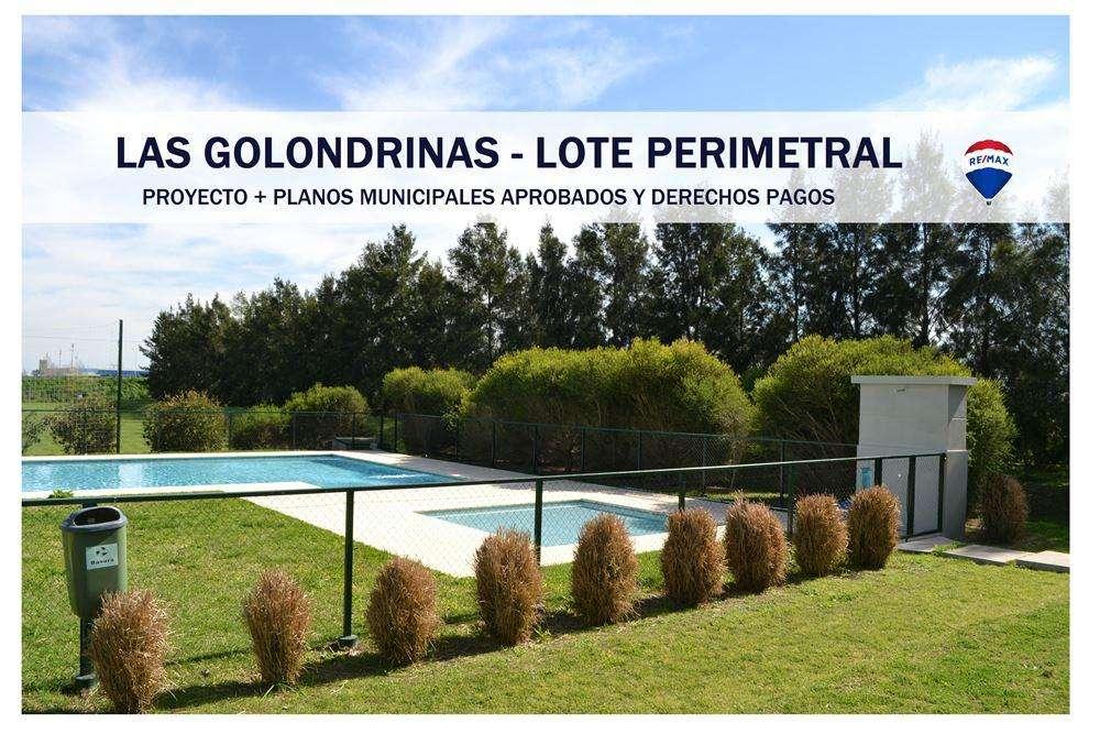LAS GOLONDRINAS - LOTE - CASA - FINANCIACIÓN