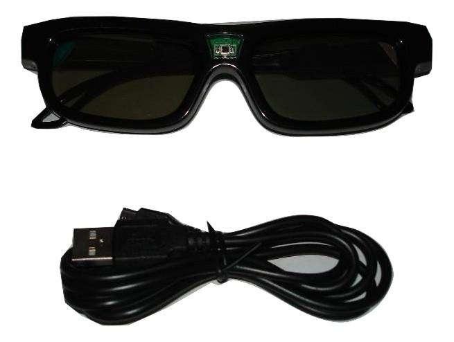 Gafas 3D Activas Para Proyector Video Beam DLP