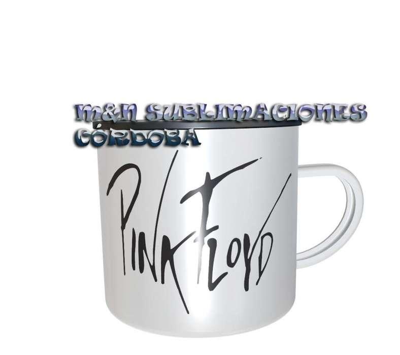 Taza de Desayuno Pink Floyd