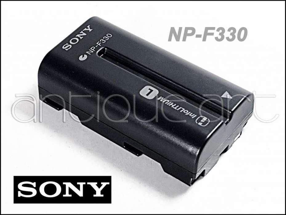 A64 Bateria Sony Np F330 Recargable Video Luz Leds Np F550