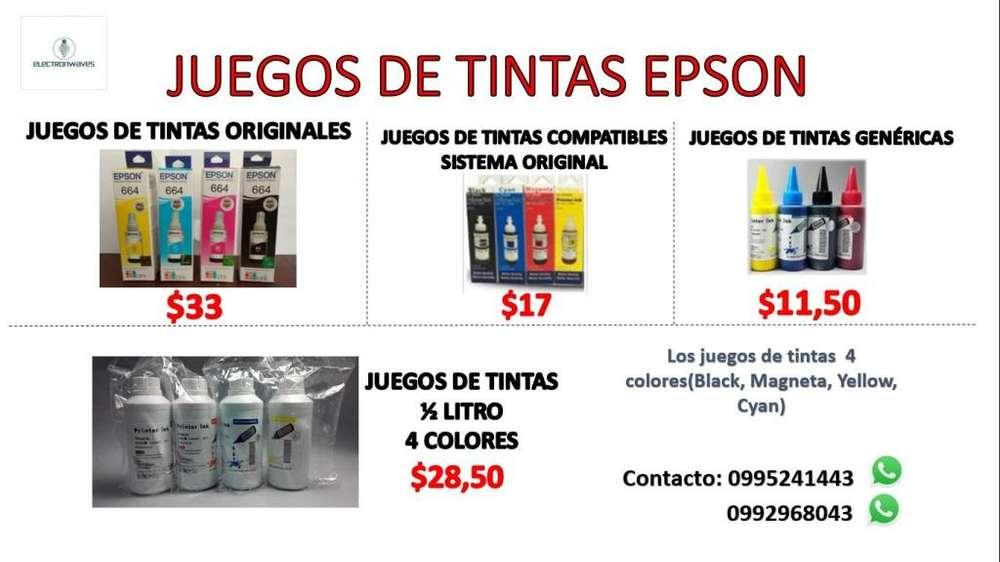 TINTAS EPSON