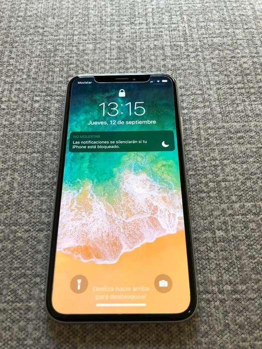 iPhone X 256 Gb - Silver - Como Nuevo!