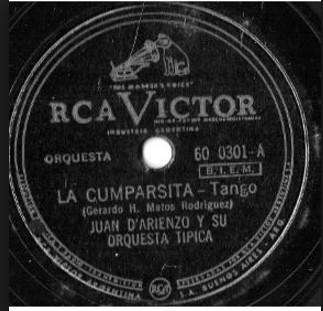 Long Plays de DÀrienzo y su Orquesta Típica, 8 en total