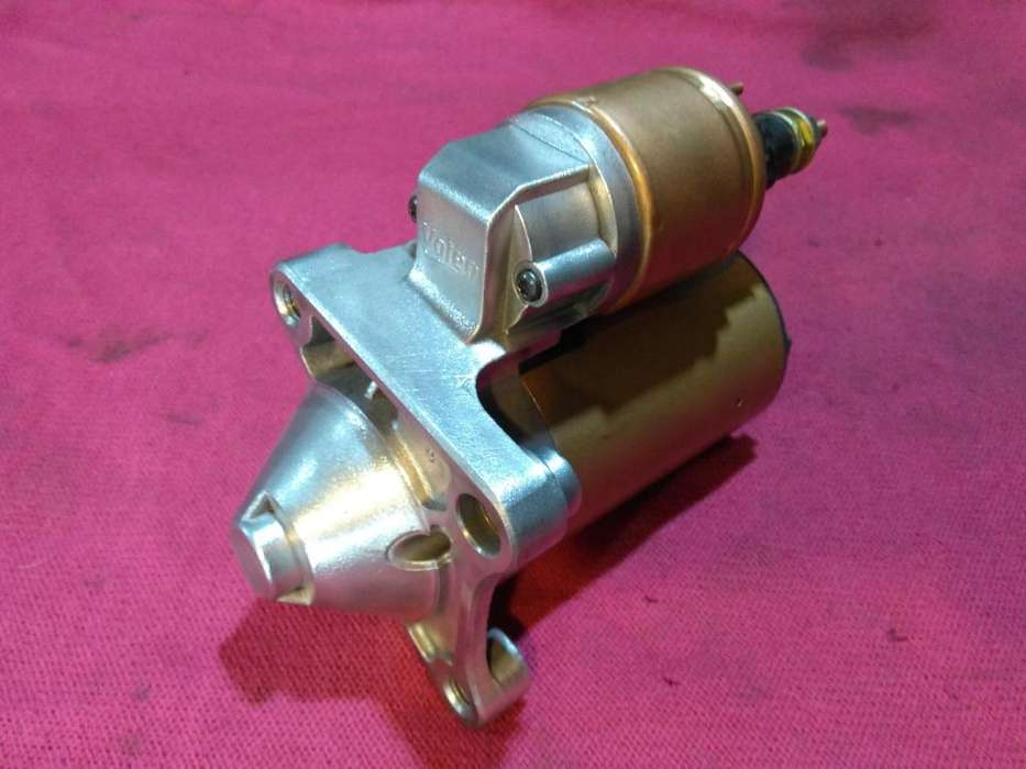 Burro de arranque de renault logan, duster, sandero, , etc motor k4m, or