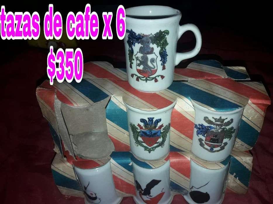Hermosas Tazas de Te Y Cafe