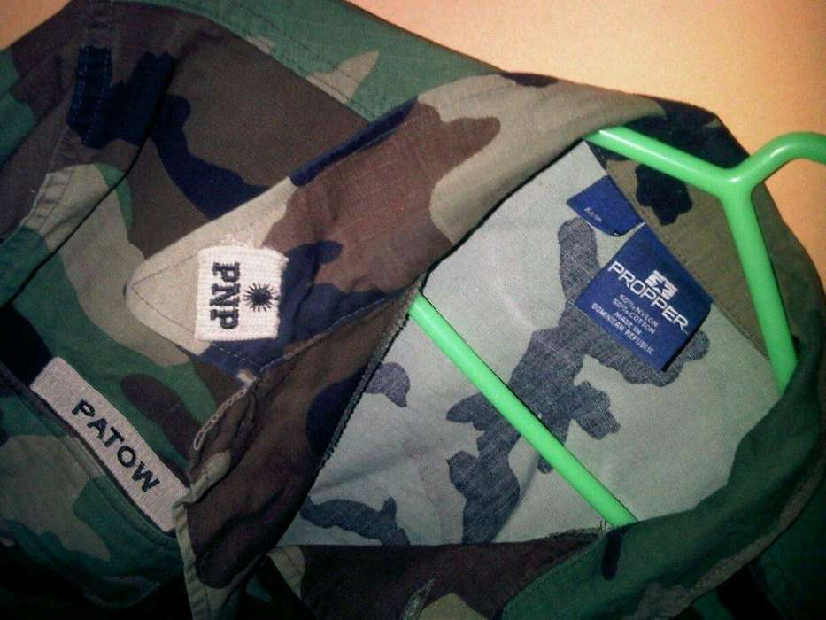 saco camuflado del ejercito made in republica dominica medium