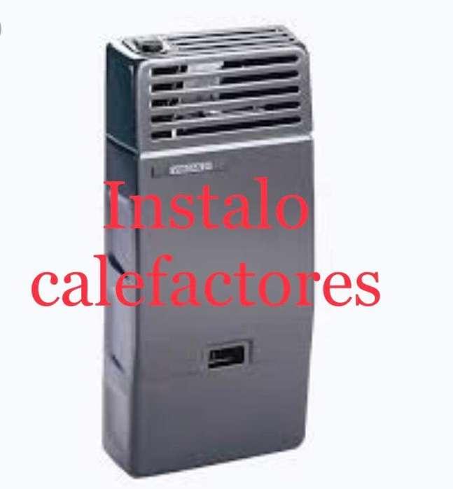 Instalo Calefactores,promo en junio