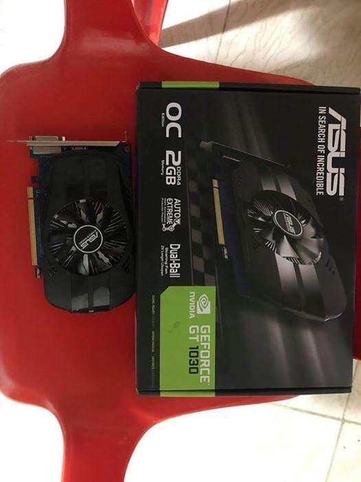 ASUS Phoenix GeForce GT 1030 OC edition 2GB GDDR5 es lo mejor para PC compactas y entretenimiento