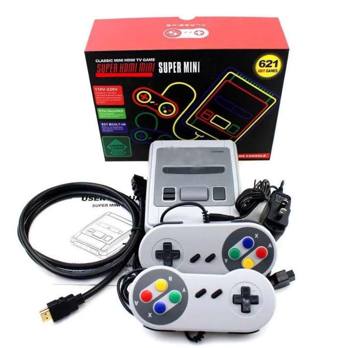 Consola Retro Súper Nintendo