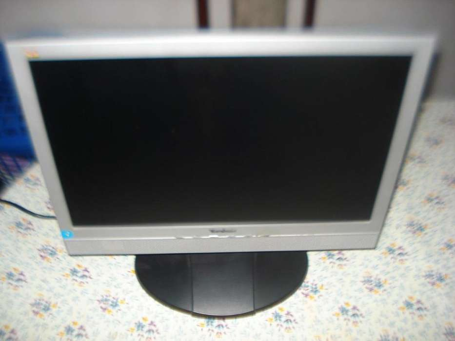 Monitor Lcd 19 Viewsonic Exc.imagen Impecable Con Sonido!