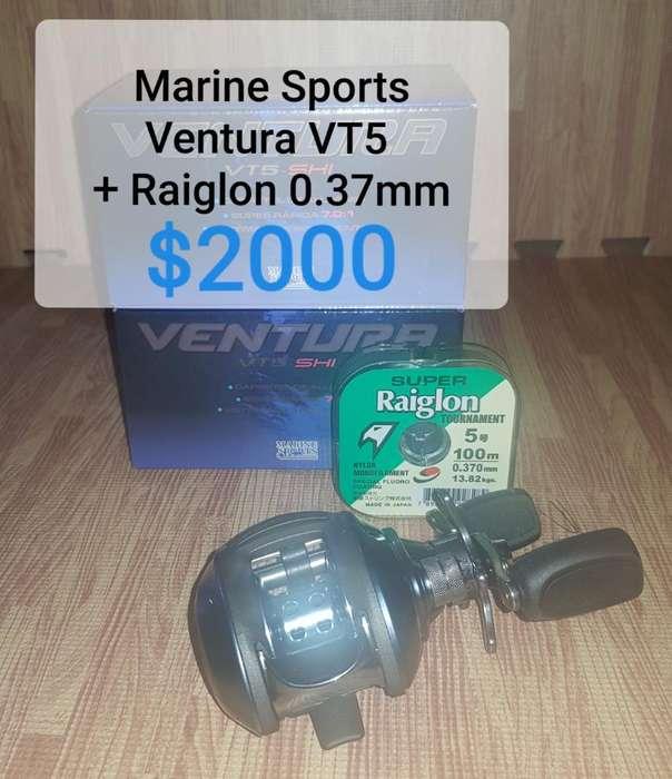 Reel Marine Sports Y Caña