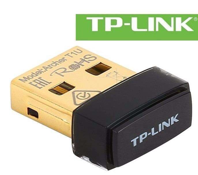ADAPTADOR INALAMBRICO NANO USB TPLINK ARCHER T1U WIRELESS AC450 <strong>wifi</strong> 450MBPS