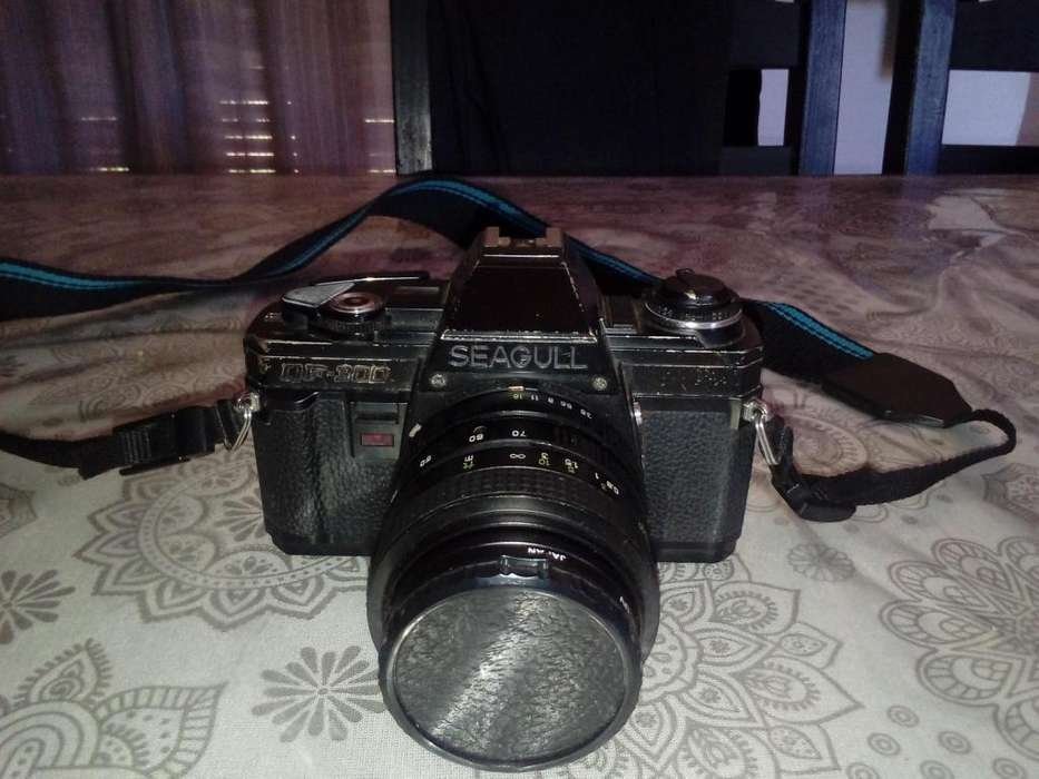 Cámara Seagull Df300 Bolso/correa/disparador/lente/filtro