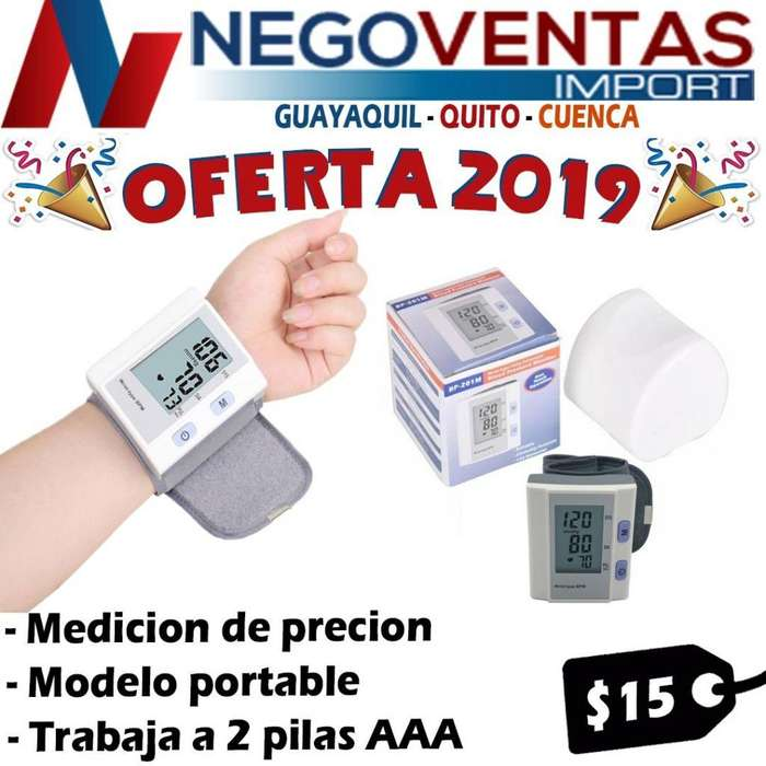 TENSIOMETRO DIGITAL DE MUÑECA DE OFERTA