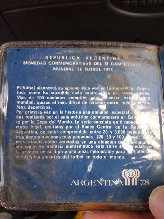 Monedas Argentina 78
