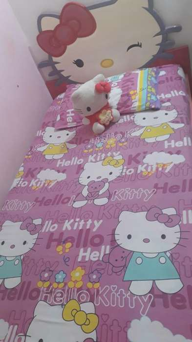 Cama Sencilla Hello Kitty