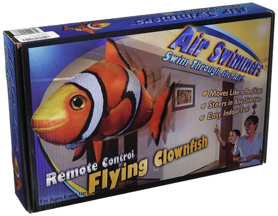 juguete tiburón a control remoto
