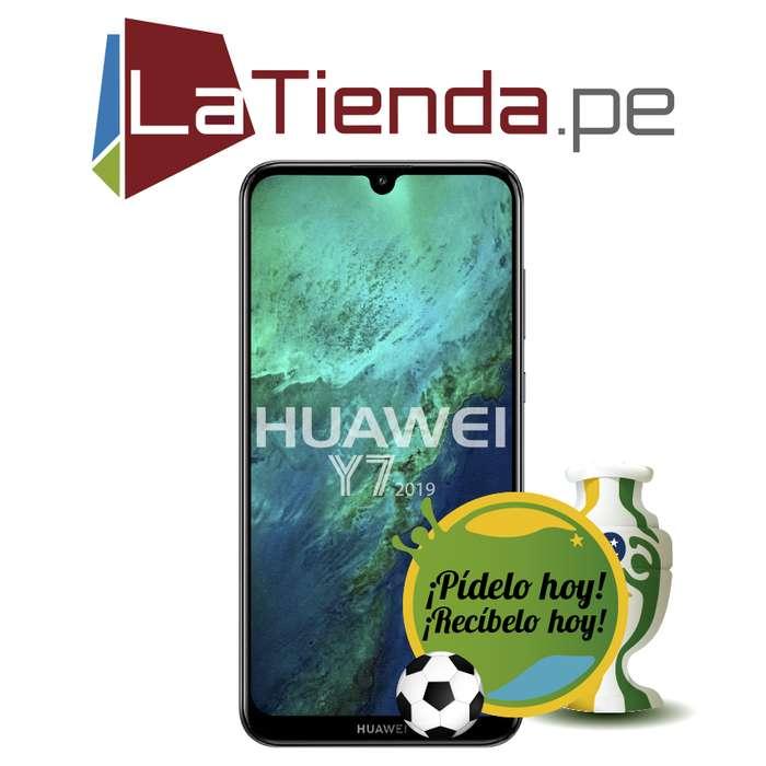Huawei Y7 2019 pantalla de 6.27 pulgadas