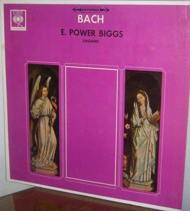Disco de Vinilo LP BACH E POWER BIGGS