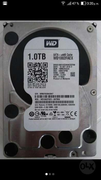 Disco Duro Interno Western Digital 1tb