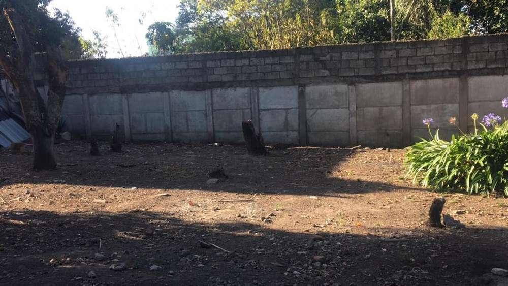 Vendo Terreno Sector Centro de Conocoto Excelente Ubicación Ideal Constructor