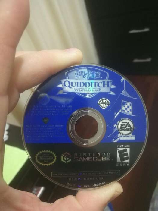 Cd de Nintendo Game Cube - Quidditch