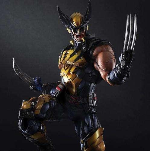 X Men Wolverine Logan Figura De Colección 26cm