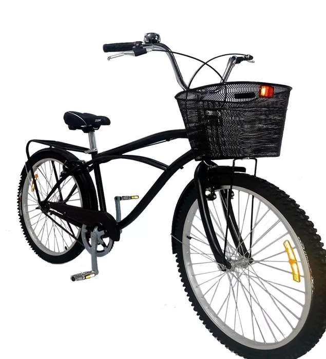 Bicicleta Vintage Para Hombre Aro 26