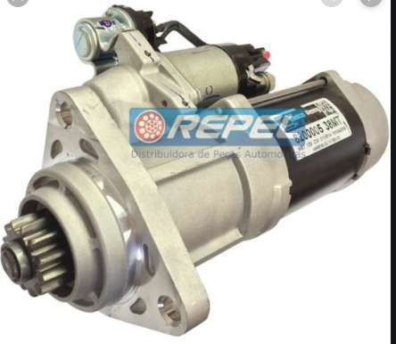 ARRANCADORB 38MT -12V / VOL2T0911023J / Cummins Case MX 220 MX240 MX270 / motor Cummins 6CTAA 8.3