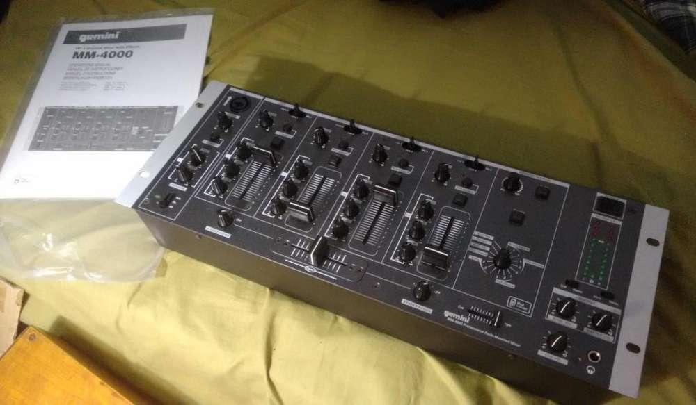 Mezcladora Gemini Mm4000