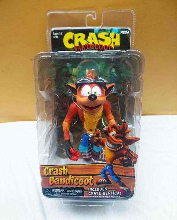 Figura de acción de Crash Bandicot