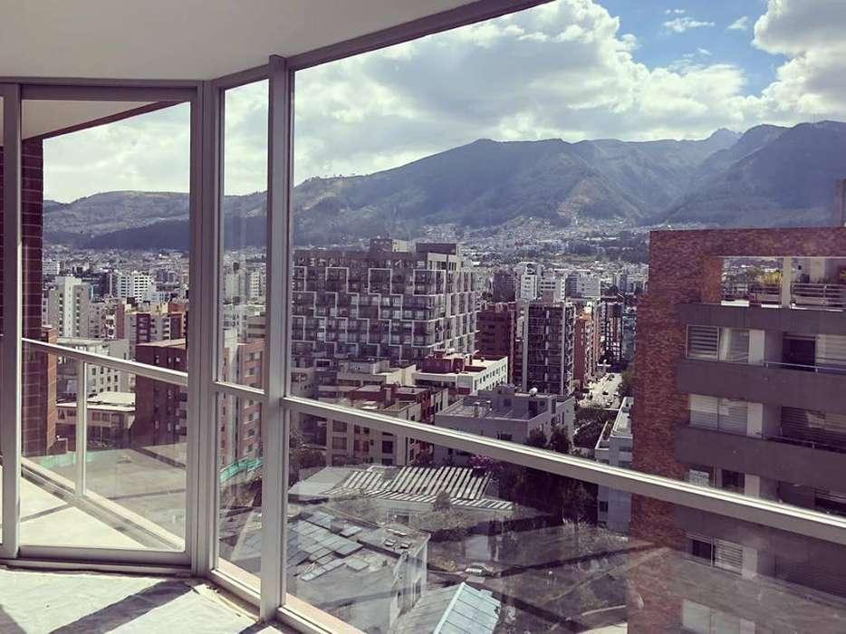 Vendo, <strong>departamento</strong> de dos dormitorios con vista, Eloy Alfaro entre Catalina Aldaz y Portugal