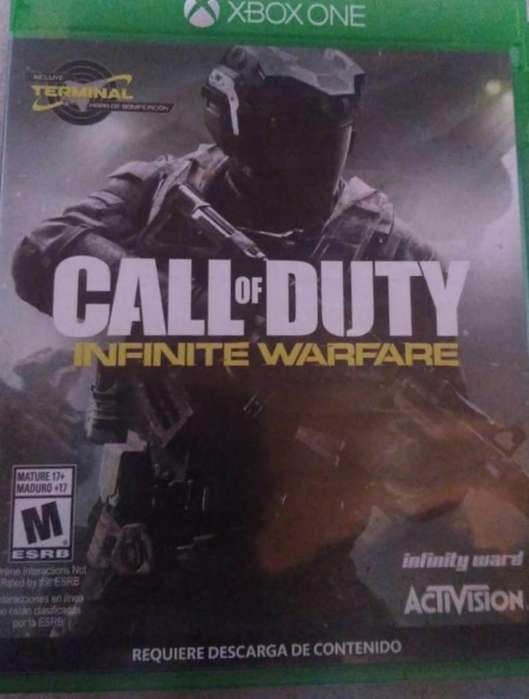 Juego Call Of Duty. Xbox One