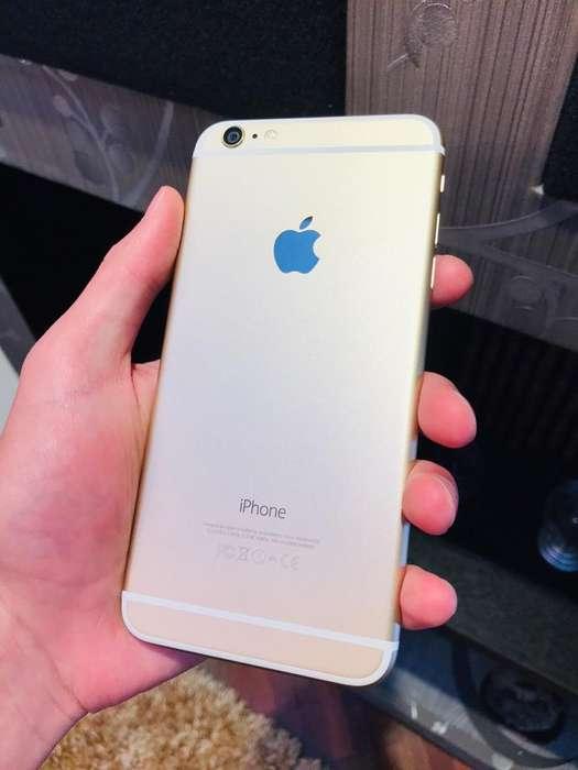 iPhone 6 Plus Gold Dorado 10/10 en Caja