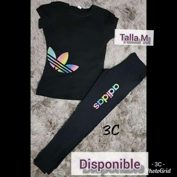 Conjunto Deportivo Talla M Disponible