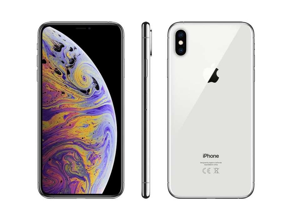 Celular Iphone Xs Max 64gb Silver - Space Gra
