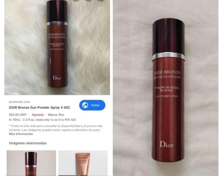 Bronze en Spray Marca Cristhian Dior