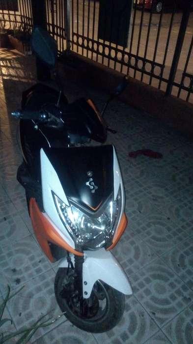 Moto elctrica sunny de auteco