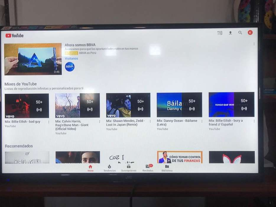 Television Smarttv Jvc 32'